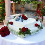Villa il Poggione Torta matrimonio